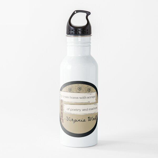 Virginia Woolf sticker Water Bottle