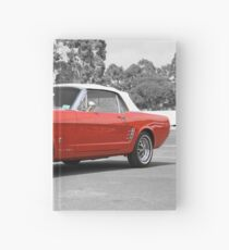 Red Mustang Hardcover Journal