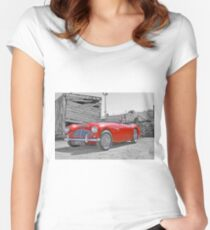 1954 Austin Healey BN4 100/6 Fitted Scoop T-Shirt