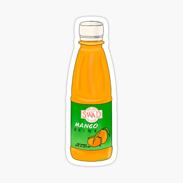 Mango Juice Sticker