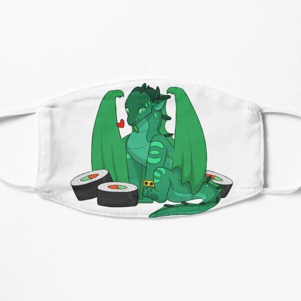 Turtle and Sushi Flat Mask