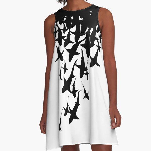 Shark A-Line Dress