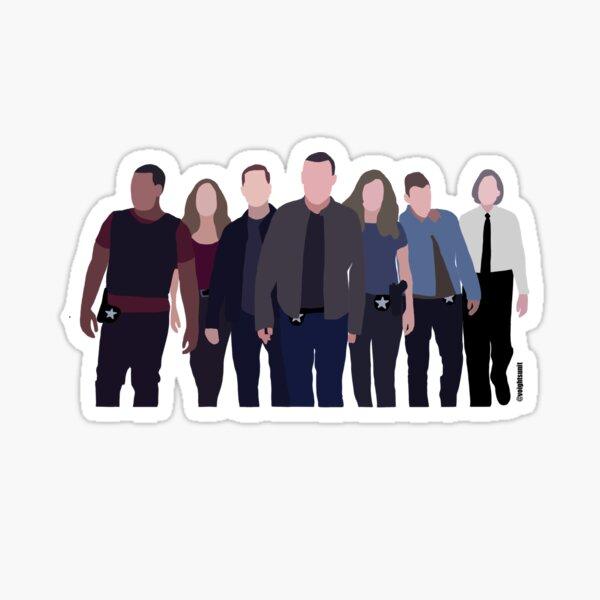Chicago PD cast Sticker