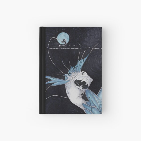 An Unexpected Catch Hardcover Journal