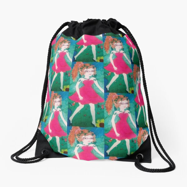 Fairy items, art, child design Drawstring Bag