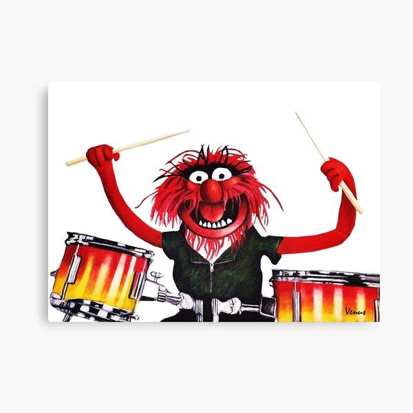 Animal Drummer Canvas Print
