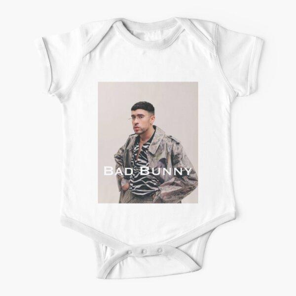 Camiseta de bad bunny, fan y equipo de bad bunny Body de manga corta para bebé