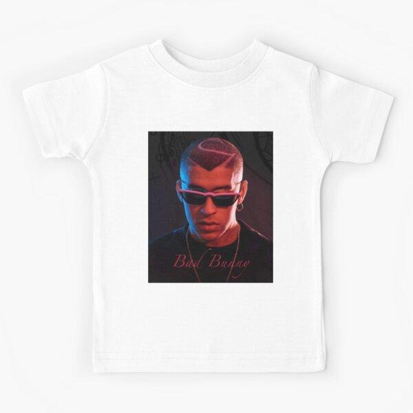 Camiseta de bad bunny, fan y equipo de bad bunny Camiseta para niños
