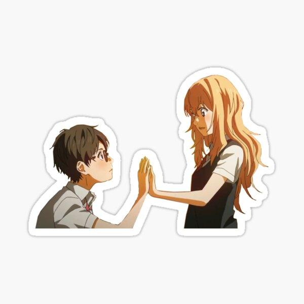 kousei and kaori Sticker