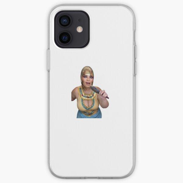 trisha paytas egyptian king tut tiktok buried with a donkey iPhone Soft Case