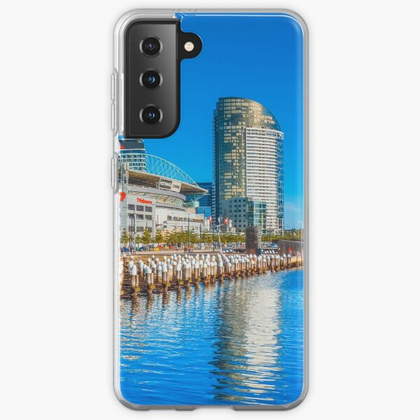 Reflections at Docklands - Melbourne, Victoria Samsung Galaxy Soft Case