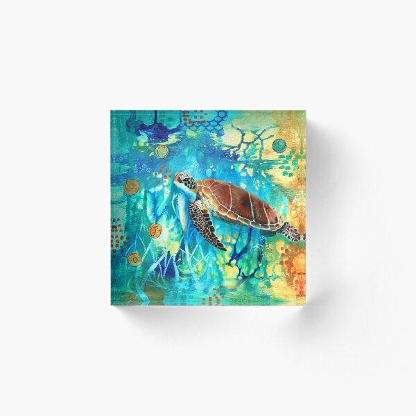 Turtle Acrylic Block