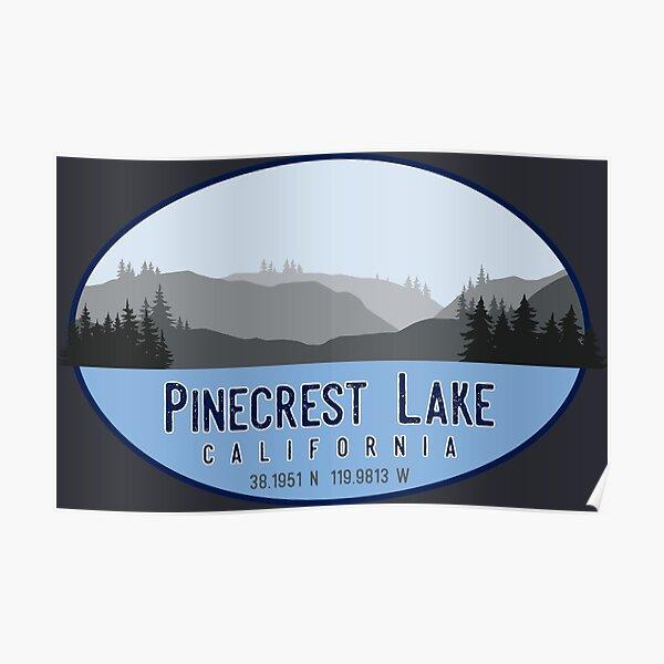 Pinecrest Lake, California Poster