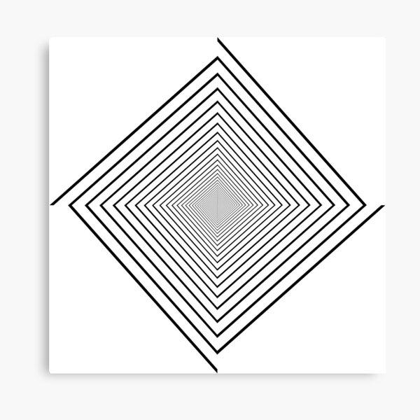 Square spiral Canvas Print