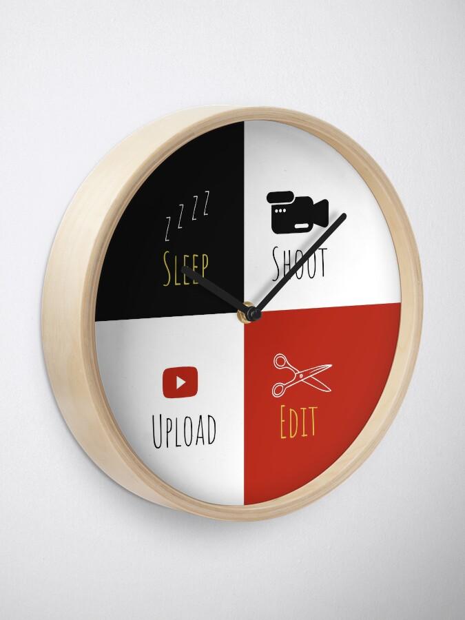 Alternate view of Youtuber Clock