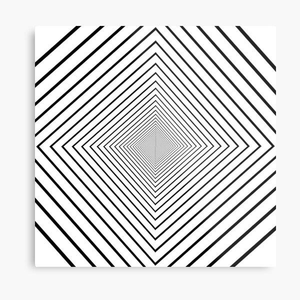 Square spiral Metal Print