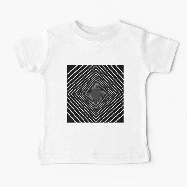Square spiral Baby T-Shirt