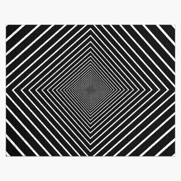 Square spiral Jigsaw Puzzle