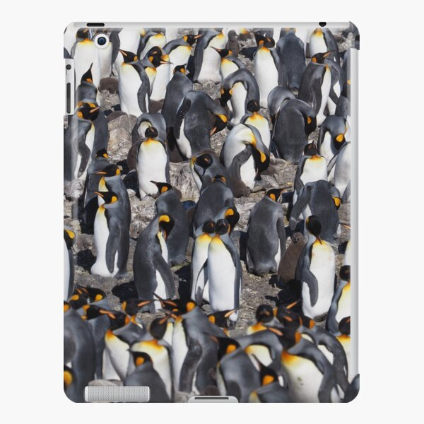 Penguin Textures iPad Snap Case