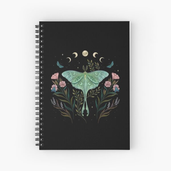 Luna and Forester Spiral Notebook