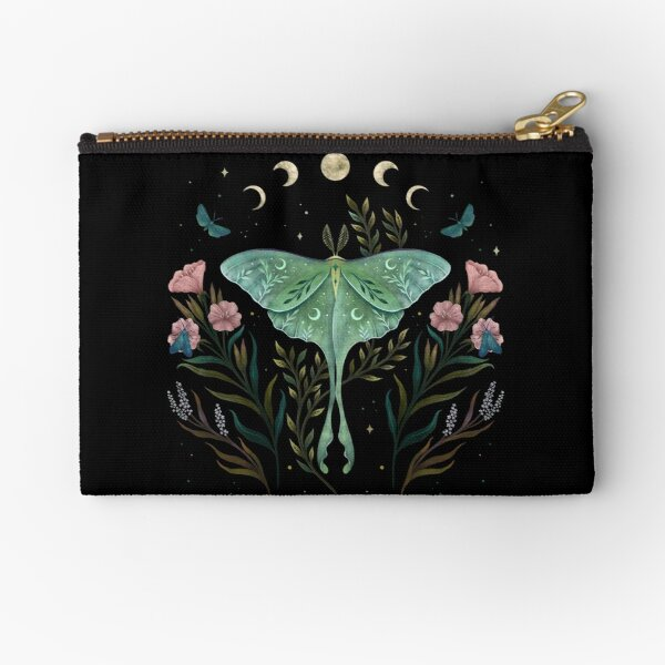 Luna and Forester Zipper Pouch