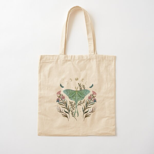 Luna and Forester Cotton Tote Bag