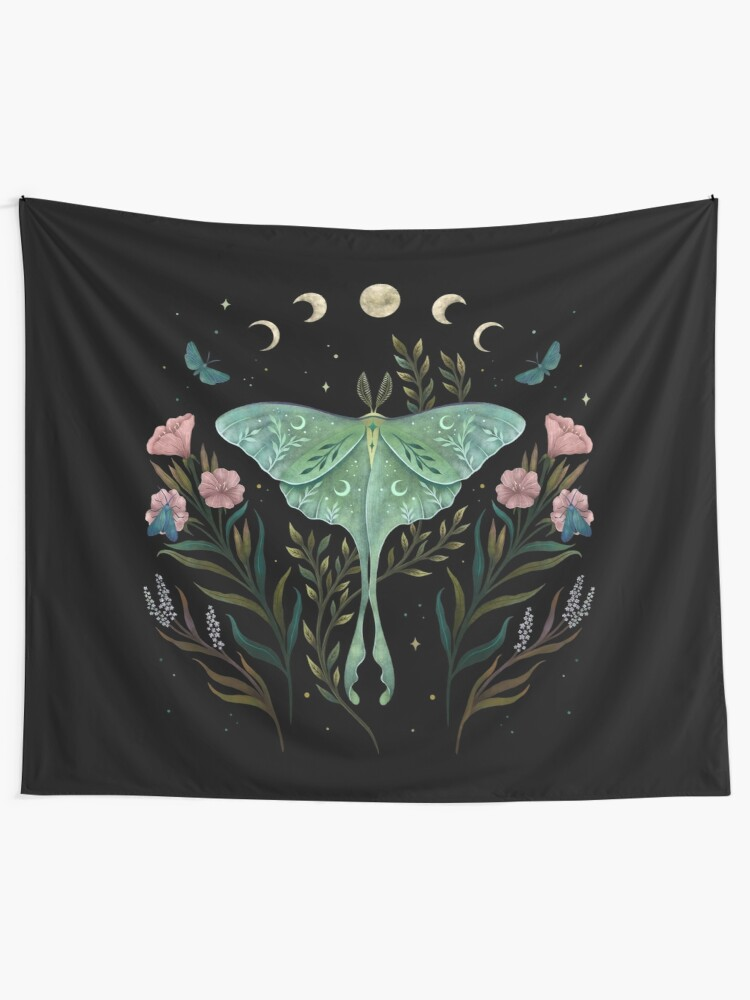 Alternate view of Luna and Forester Tapestry