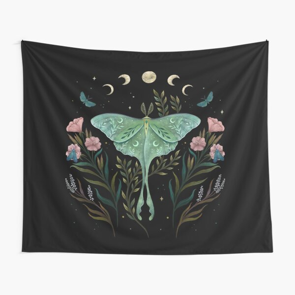 Luna and Forester Tapestry