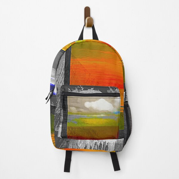 Blue Cloud Window Backpack