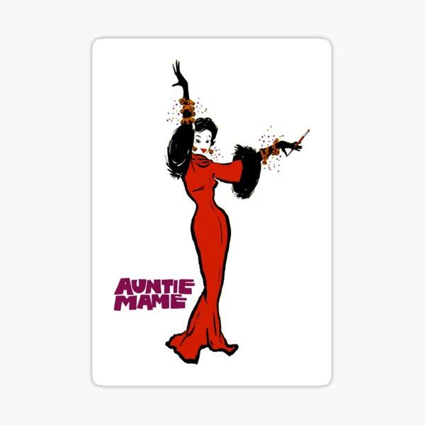 Auntie Mame (1958) - Mame Dennis Sticker