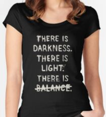 NO BALANCE Women's Fitted Scoop T-Shirt