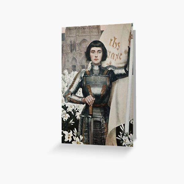 Revolutionary Joan of Arc Greeting Card
