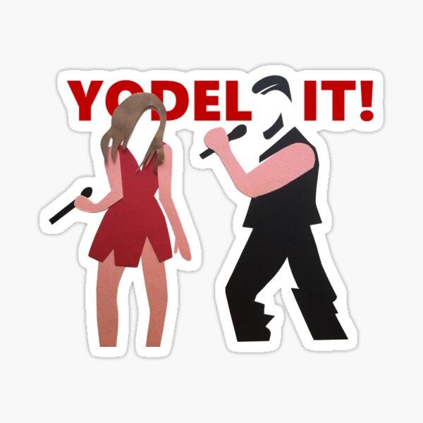 yodel it! Sticker