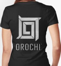 TSW - Orochi Origami Women's Fitted V-Neck T-Shirt