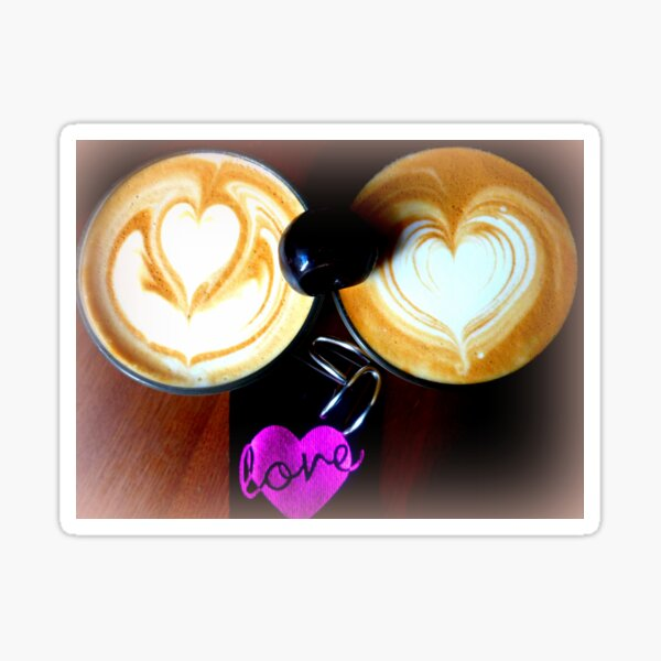 Coffee with LOVE  Sticker