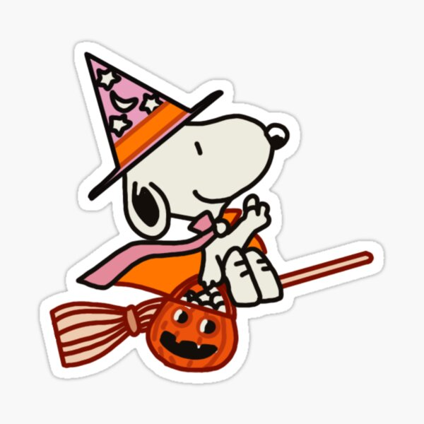 snoopy halloween! Sticker