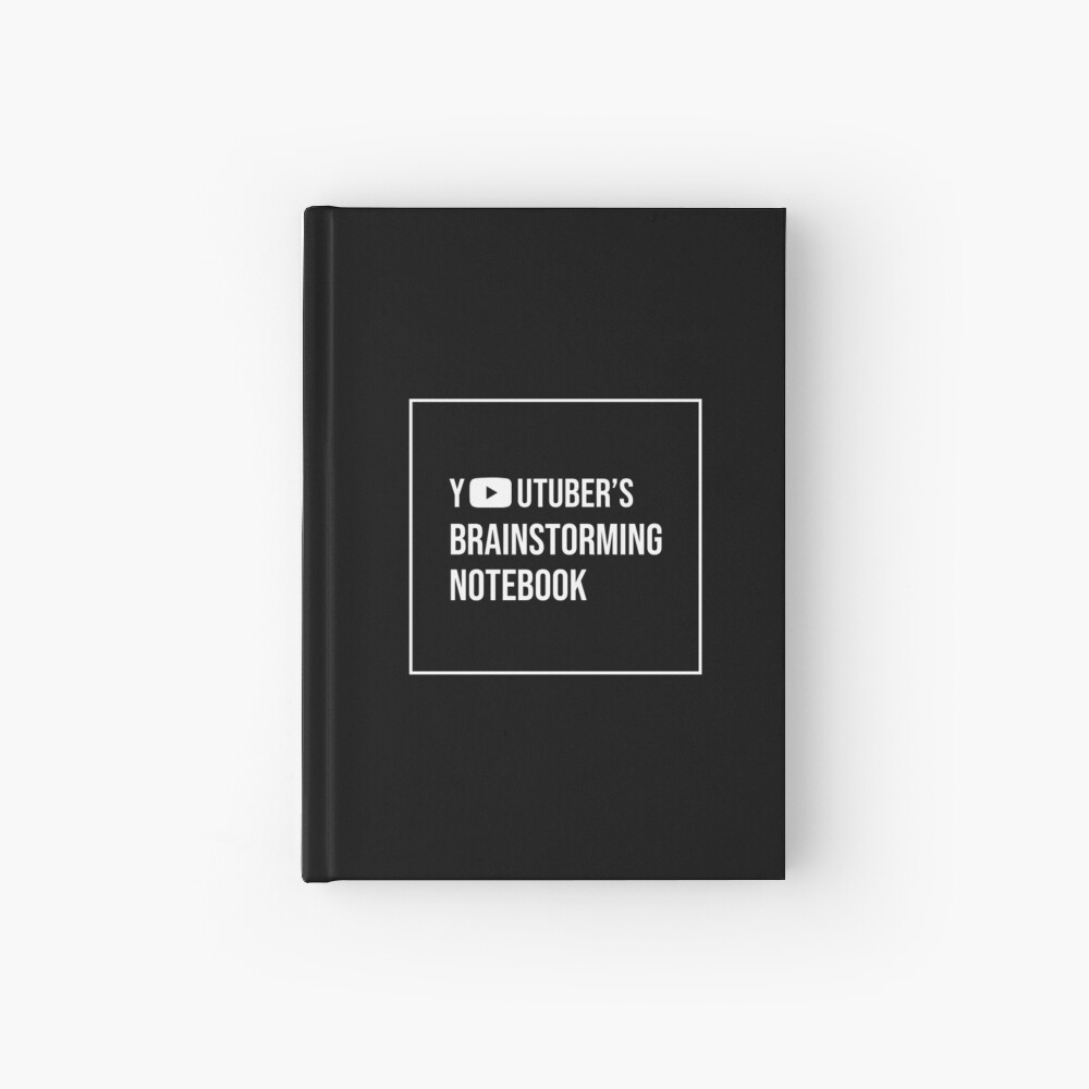Youtuber's Brainstorming Hardcover Journal