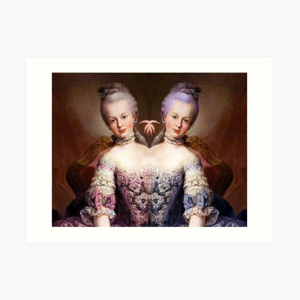 Marie-Antoinette Impression artistique