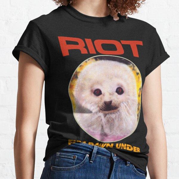 Riot Fire Down Under Camiseta clásica