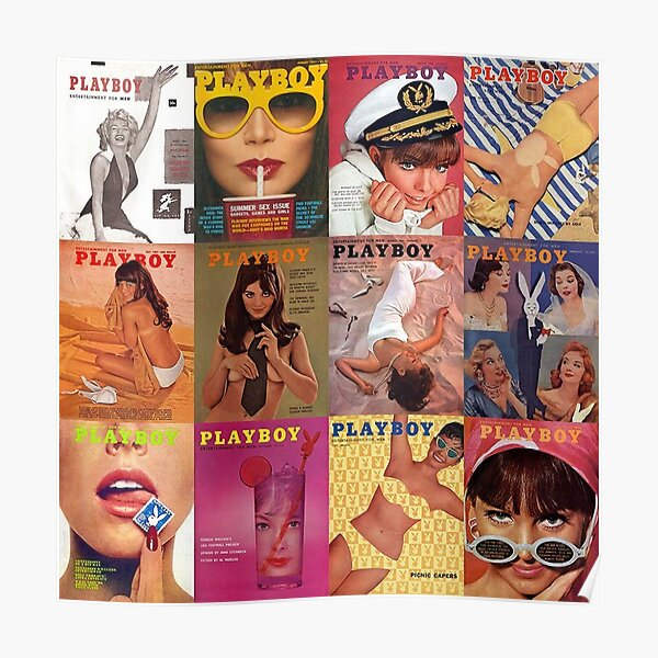 PLAYBOY COLLAGE Poster