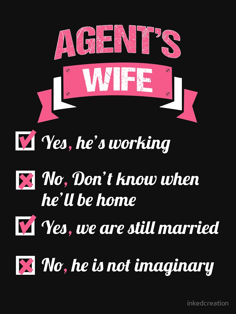 AGENT'S WIFE by inkedcreation