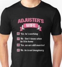 ADJUSTER'S WIFE Unisex T-Shirt