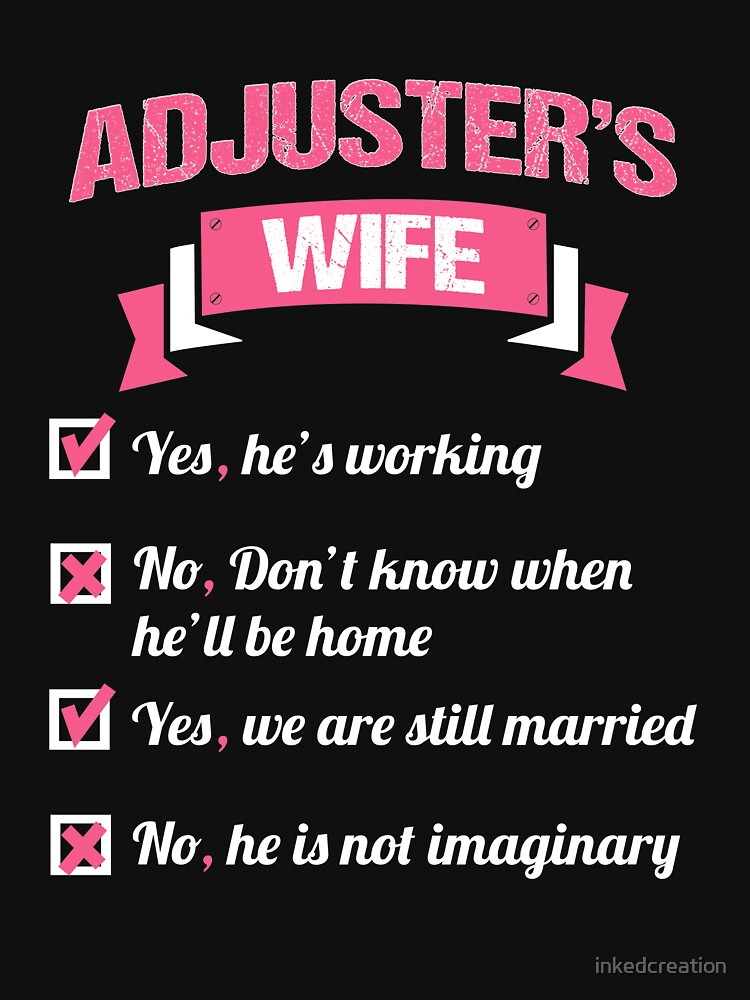 ADJUSTER'S WIFE by inkedcreation