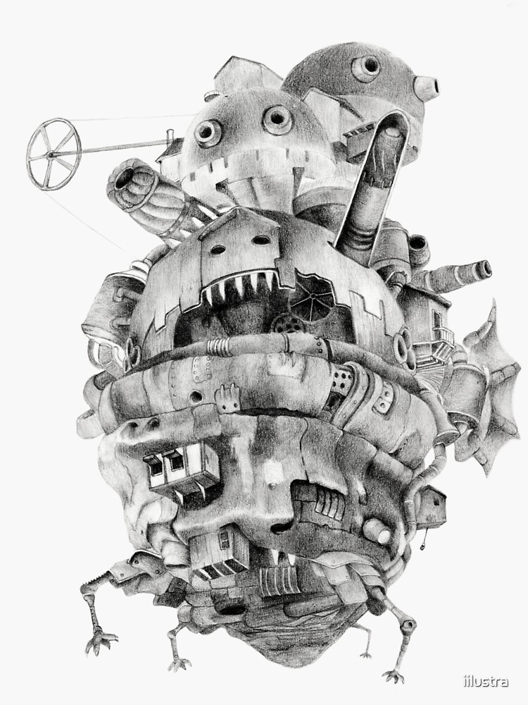 Howl's moving castle by iilustra