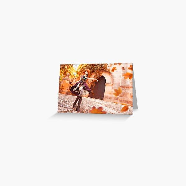 Autumn · Yuuko Greeting Card