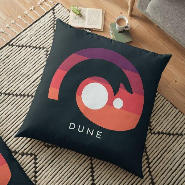 Dune 2020 Sandworm Arrakis Floor Pillow