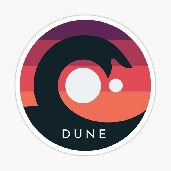 Düne 2020 Sandwurm Arrakis Sticker