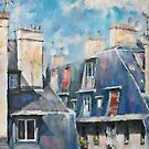 Roofs of Montmartre by Tatiana Ivchenkova