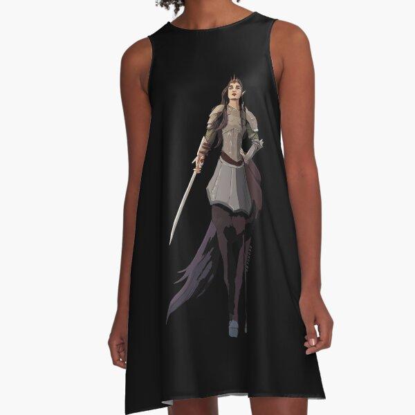 Queen of Centaurs A-Line Dress