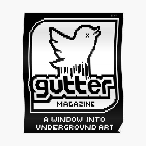Gutter Electronic Magazine (e-mag) Promo Poster